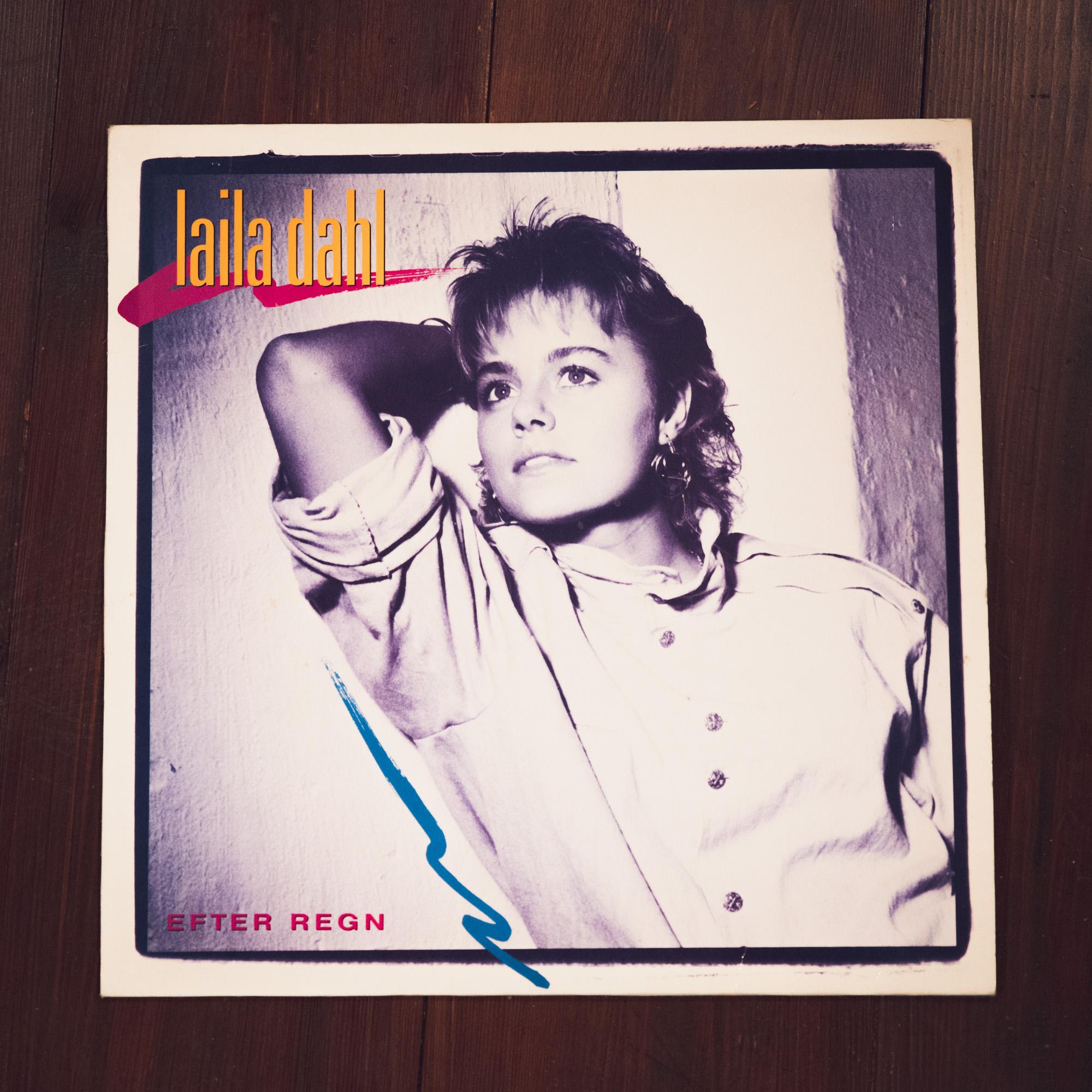 Omslaget på Laila Dahls Efter regn CD-skiva
