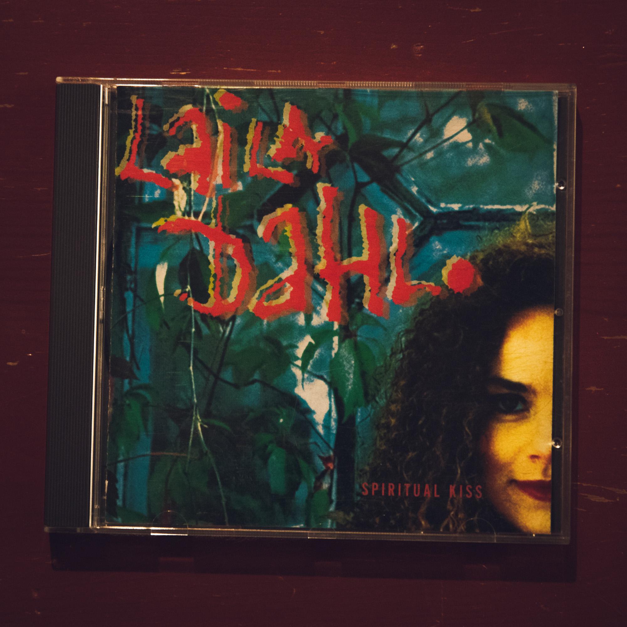 Skivomslag Laila Dahl Spiritual Kiss